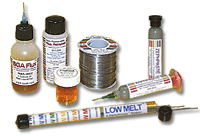 Soldering & Desoldering Supplies, Chemicals, Tools, SMD Kits, PCB Kits, Low Melt Desolder Wire, Removes Chip Quick, Flux, Dispensing Needles, Solder Paste, Lead-Free Solder Paste