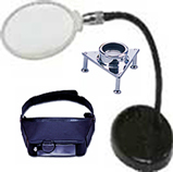 Inspection,  Magnifiers, Optic, Loupes